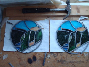 stained leaded glass courses