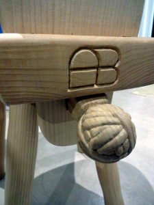 andy bennett woodcarving chair