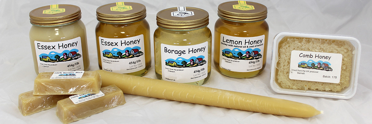 Permalink to: Raw Essex honey for sale