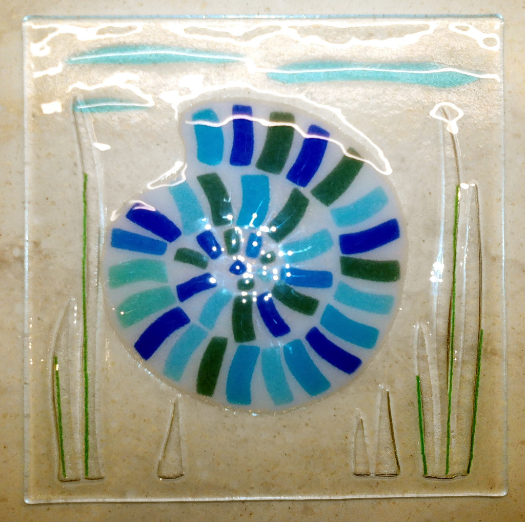 fused glass finished
