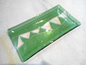 glass fused dish